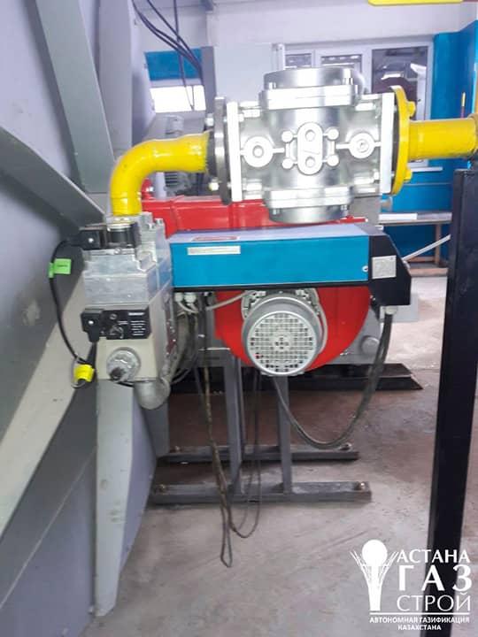 Подключение газопровода СУГ к горелке