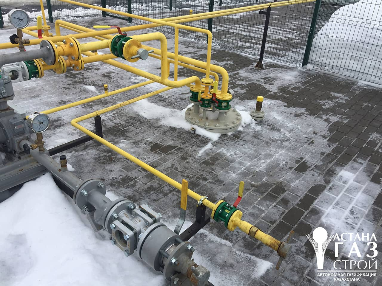 Газопроводы высокого давления СУГ