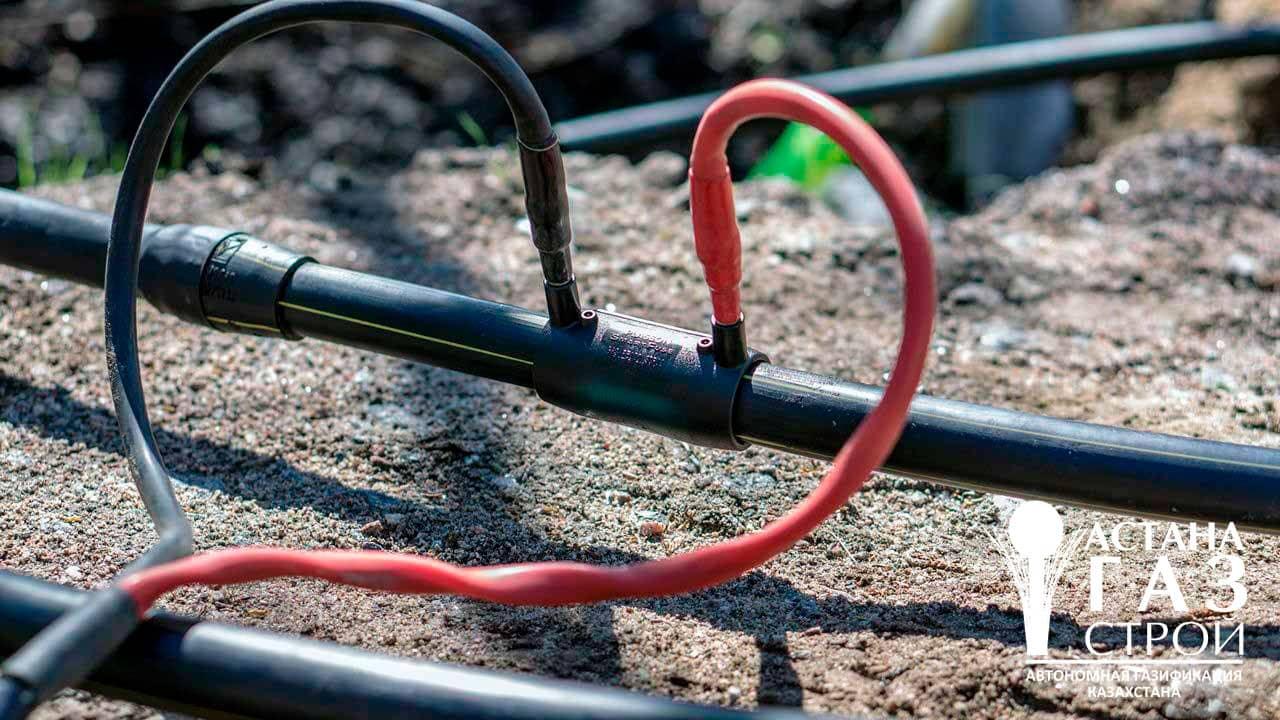 Сварочные работы на газопроводе