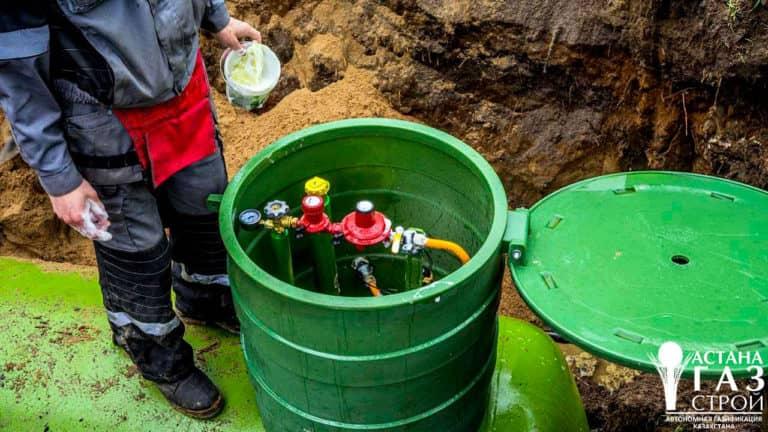 Проверка герметичности газопровода