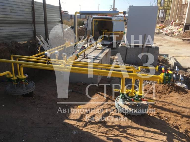 Автономная газификация трубопроводы и резервуары для СУГ