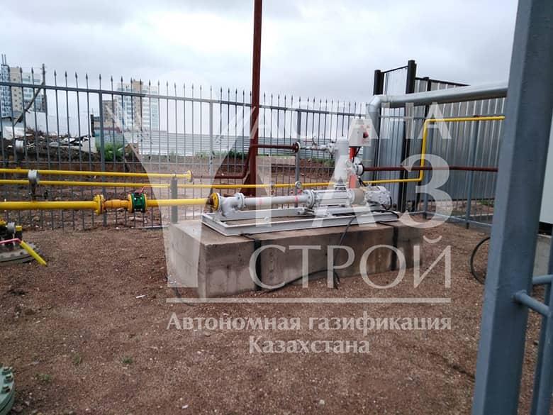 Самовсасывающая насосная установка для котельной 2600 кВт СУГ
