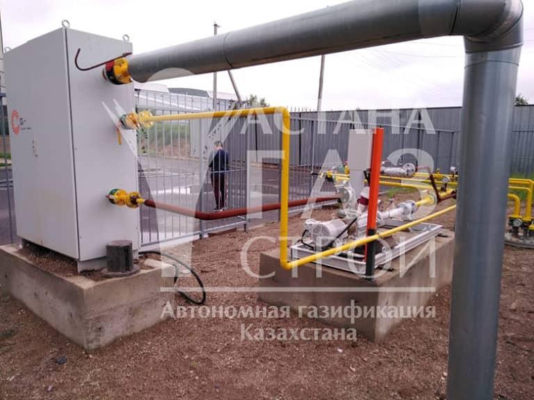 Автономная газификация котельной 2600 кВт СУГ