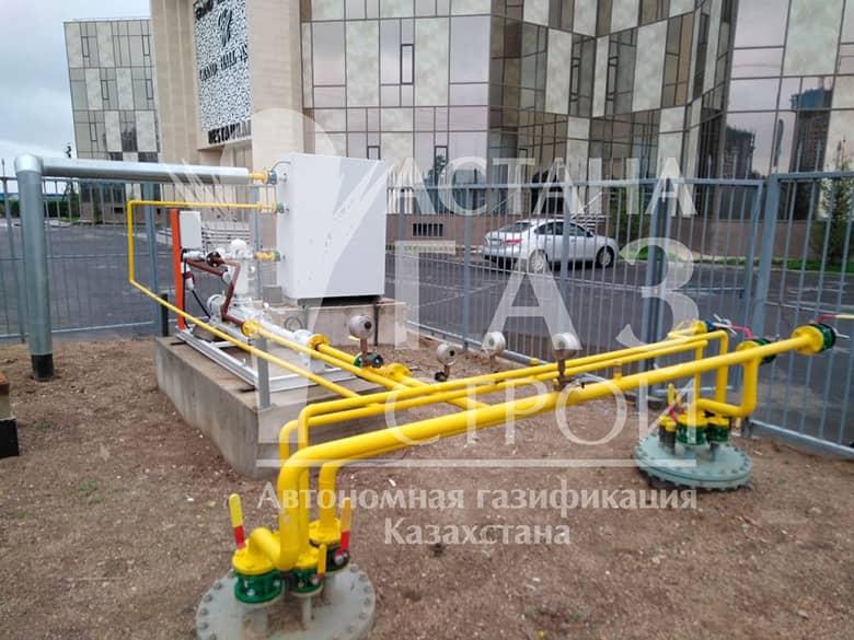 Автономная газификация - фото ГРУ для СУГ