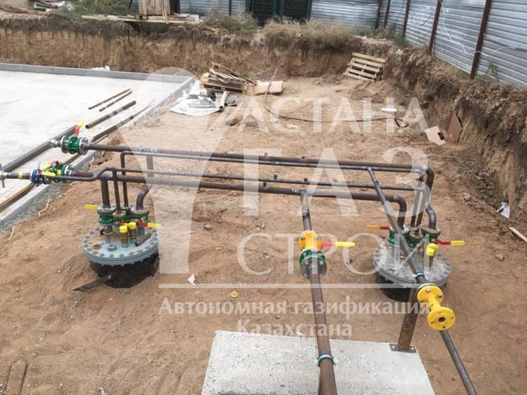 Работы по монтажу трубопроводов для СУГ