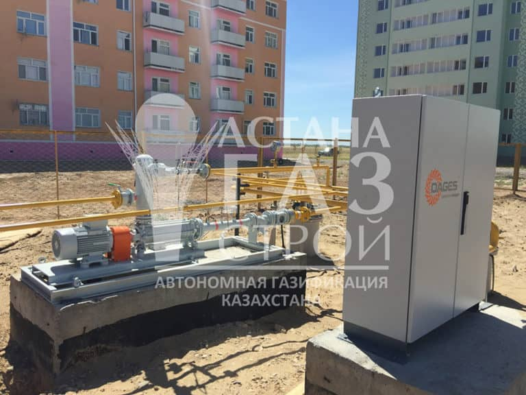 Самовсасывающая насосная установка СУГ 50 л/мин и шкаф для подключения газовоза