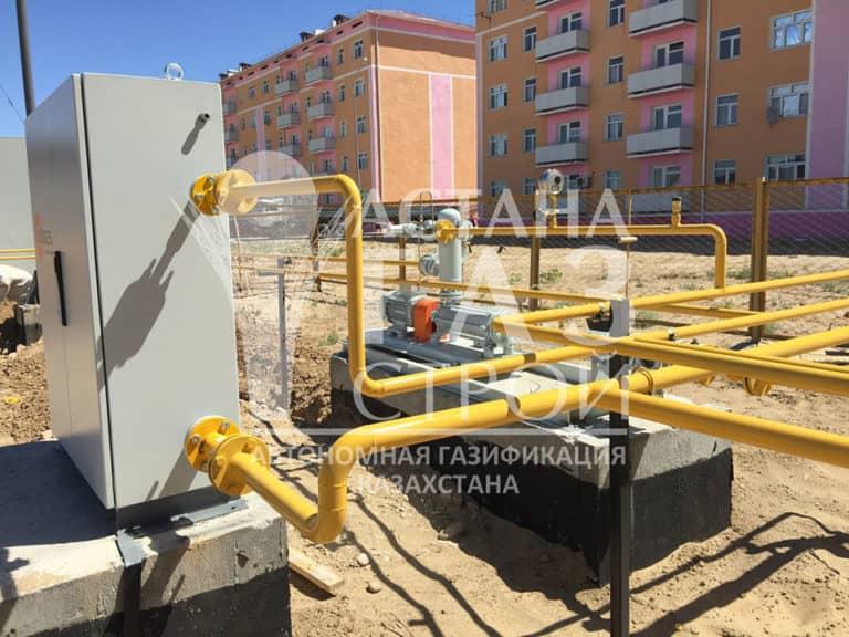 Групповая резервуарная установка СУГ в г. Туркестане