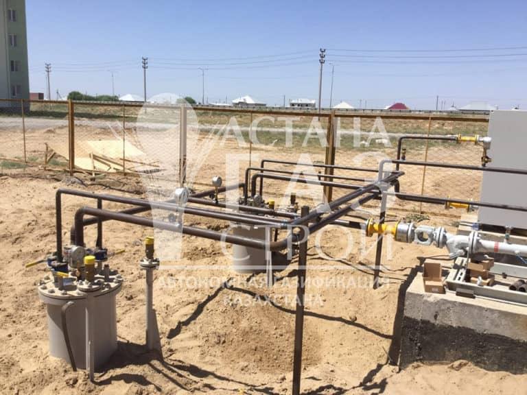 Трубопроводы обвязки резервуаров для СУГ