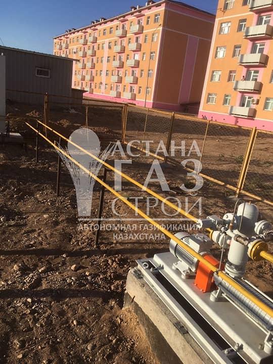 Самовсасывающая насосная установка для перекачки СУГ