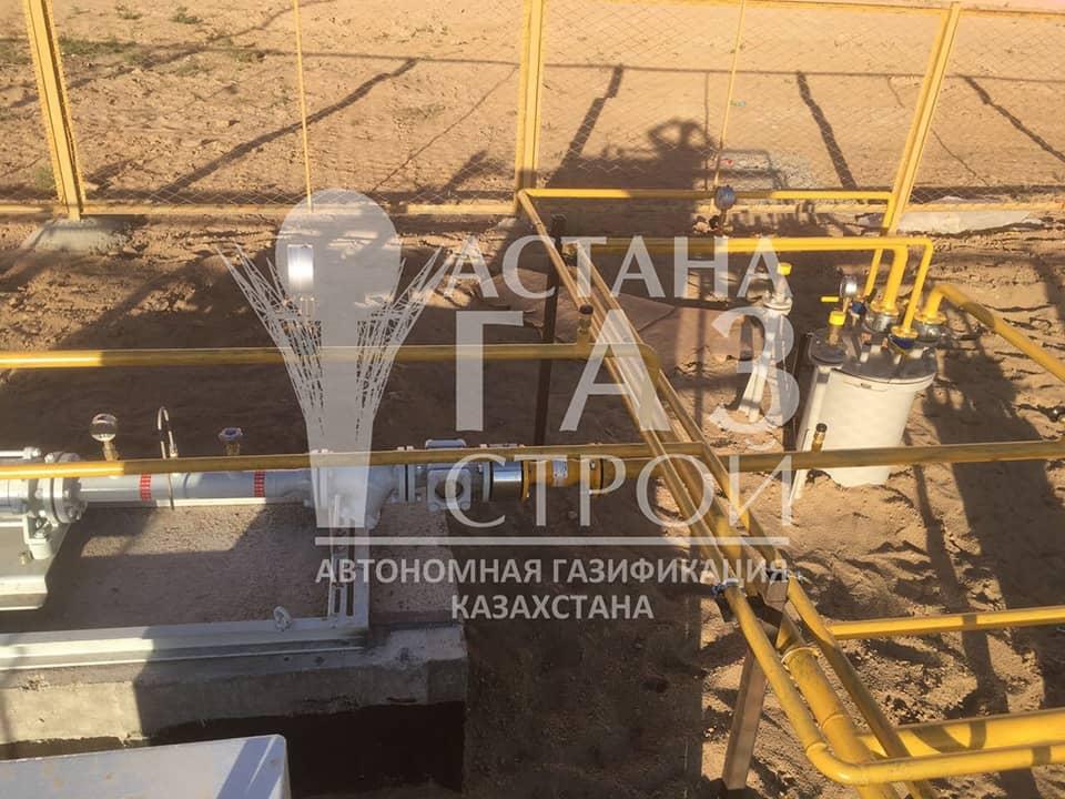 Обвязка резервуаров и самовсасывающей насосной установки для СУГ
