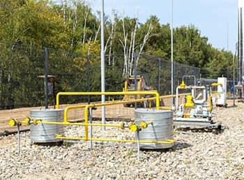 Групповая резервуарам установка для СУГ