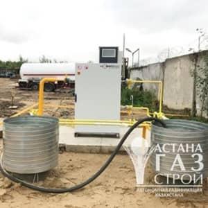 Резервуары для хранения СУГ и испарительная установка Фасэнергомаш