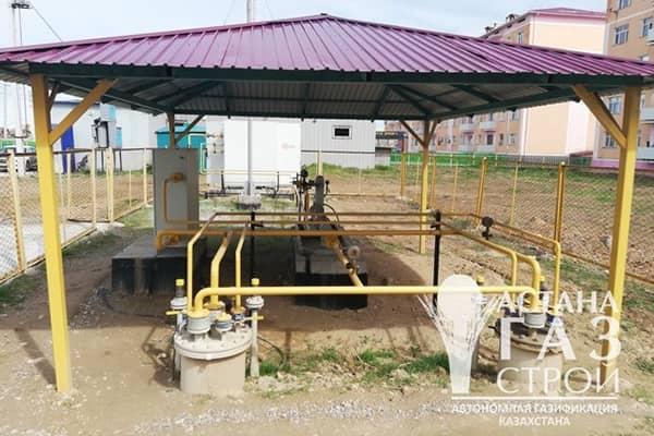 Групповая резервная установка СУГ в г. Туркестане