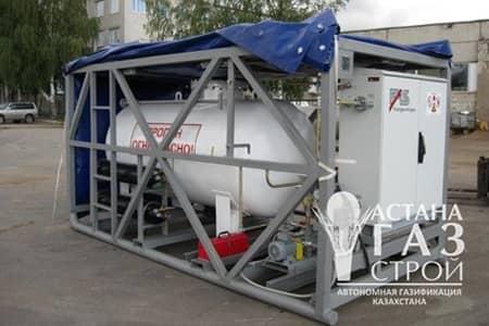 Мобильная станция газоснабжения для СУГ