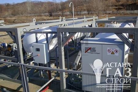 Резервуары для СУГ и испарительная установка FAS