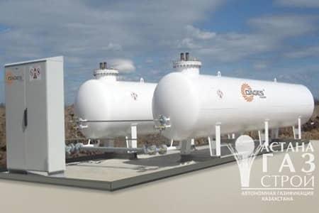 Автономная газификация , испарительная установка DAGES