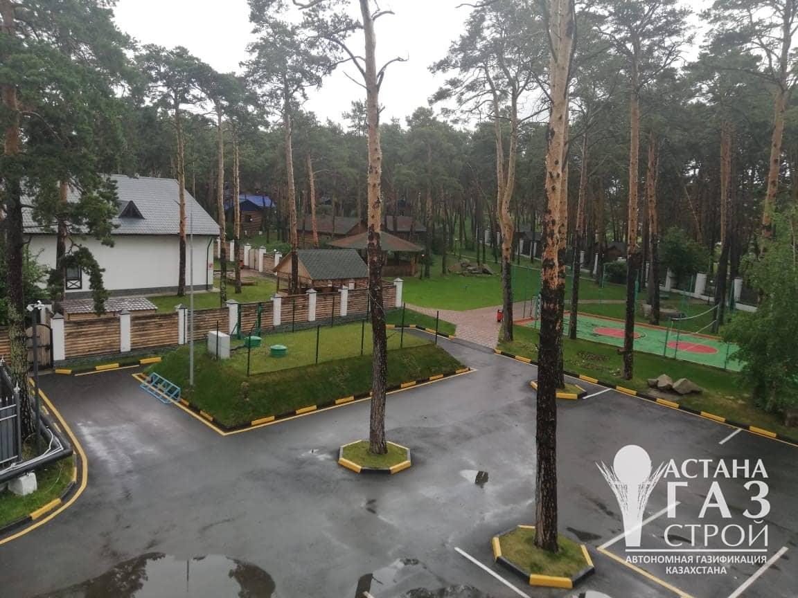 Групповая резервуарам установка СУГ