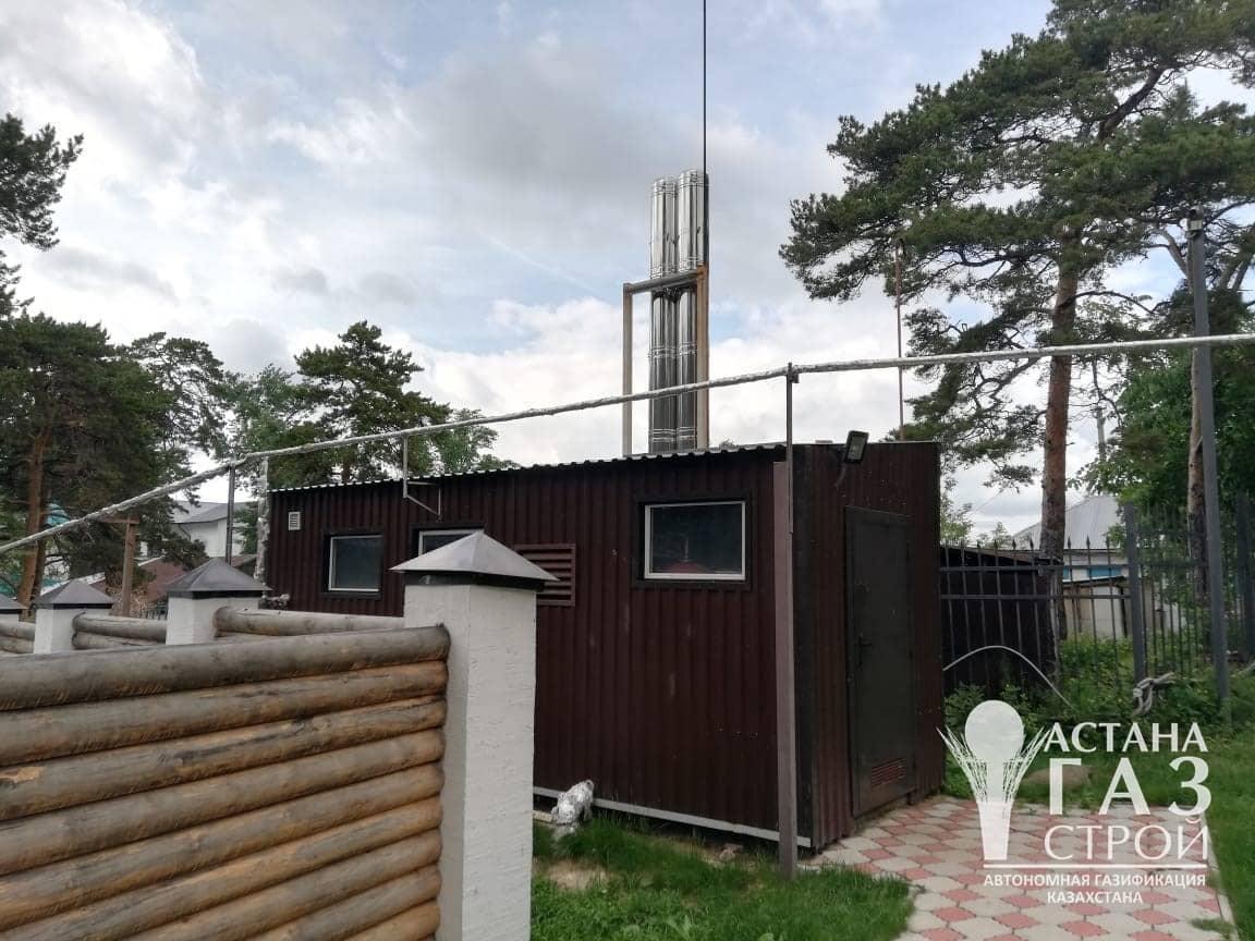 """Котельная 600 кВт дома отдыха """"Кокшебель"""""""