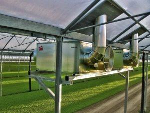 FARM 235 Газовый подвесной воздухонагреватель (тепловентилятор) непрямого нагрева