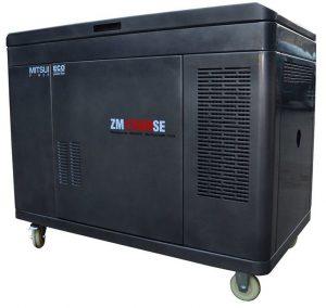 Газовый генератор Mitsui Power ZM 12500 SGE в кожухе