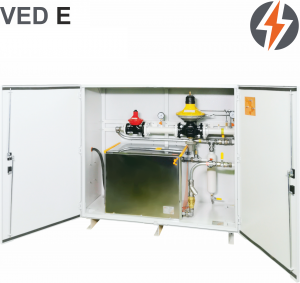 Испарительная установка электрическая «сухого» подогрева для СУГ DAGES VED 250 E-SI 250 кг/ч (3250 кВт)